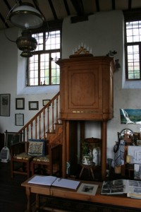 The pulpit from which John Hughes preached